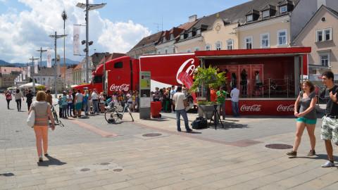 Coke Connect Truck