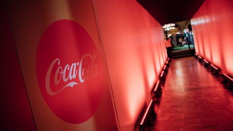 Coca-Cola Fussball Tunnel