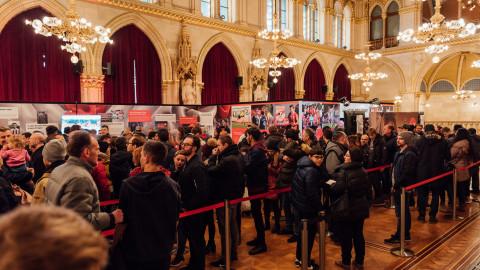 Coca-Cola Event im Rathaus