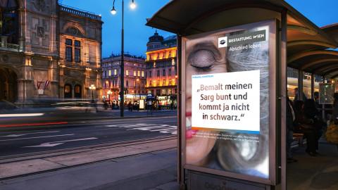 Imagekampagne für Bestattung Wien
