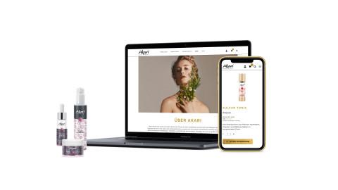 AKARI Website & Shop