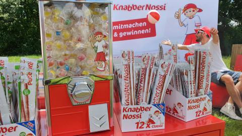 Knabbernossi Donauinselfest