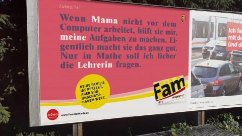 OÖ Familienkampagne - Familie gibt Halt