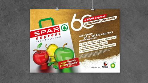 Poster Spar express