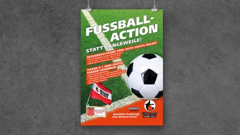 Fußballaction