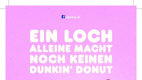 Launch Dunkin' Donuts