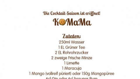 RezeptKarte Cocktail