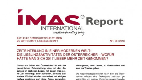 IMAS Report Nr.8 2018