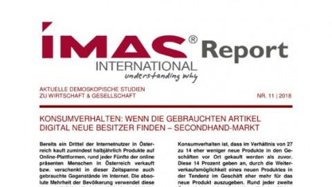 IMAS Report Nr. 11/2018