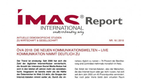 IMAS Report Nr16/2018