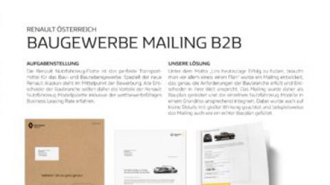 Baugewerbe MailingB2B