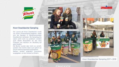 Knorr Snackbecher