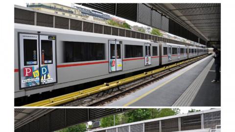 U-Bahn Außenwerbung