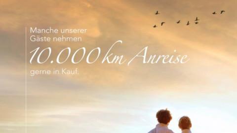 10.000km Anflug