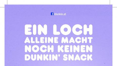 Launch Dunkin' Donuts