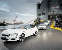 Clarity Fuel Cell feiert Europa-Debüt