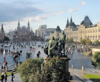 Am Roten Platz steppt jetzt wieder der Bär