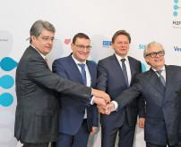 voestalpine, Siemens & Verbund pushen H2future