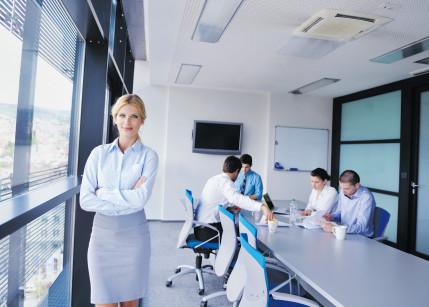 Frauen sind die besseren Bosse