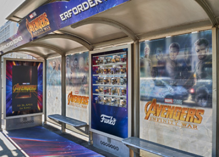"""Marvel's Avengers"" landen am Wiener Opernring"