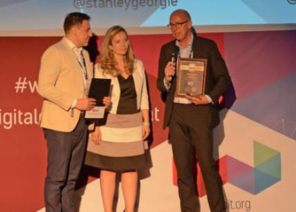 Smart TV App mit Webit New Media Award in Sofia ausgezeichnet