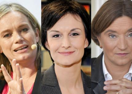 Drei prominente Journalistinnen nominiert für die Goldene MedienLöwin