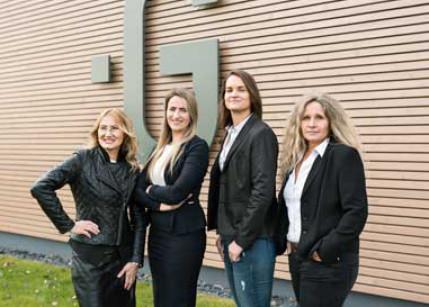 Premiumbauträger Glorit vertraut auf Frauenpower