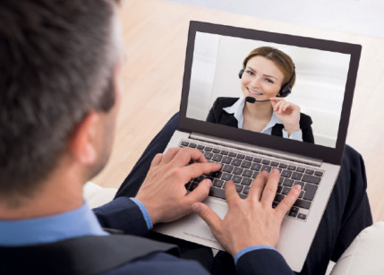 Video-Call zur Authentifizierung