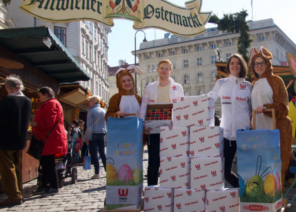 "Kampagne: W24 wünscht Wienern ein ""Frohes Osterfest!"""