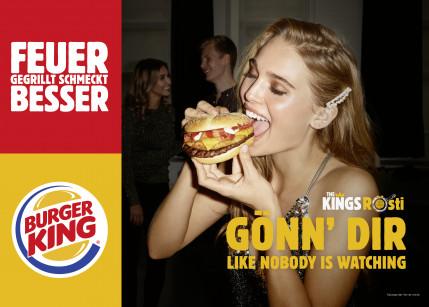 Burger King und Jung von Matt/Donau gönnen sich
