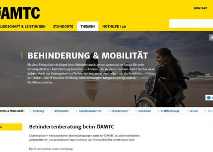ÖAMTC: Neuerungen für Menschen mit Behinderung im Kfz-Bereich