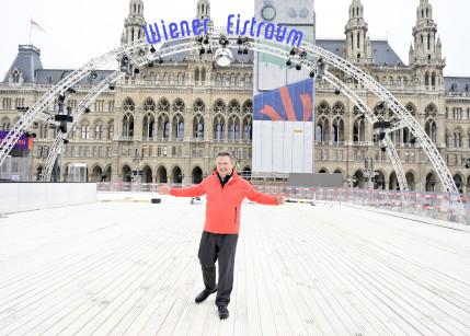 Der Wiener Eistraum feiert seinen 25. Geburtstag und Bürgermeister Michael Ludwig war der erste Gratulant