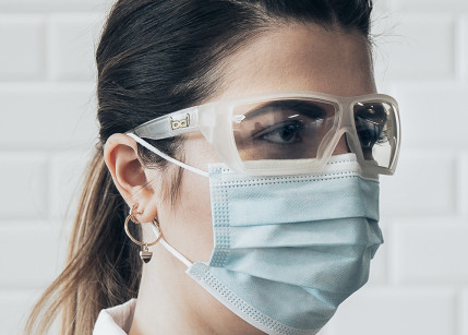 Gloryfy Unbreakable unterstützt medizinische Fachkräfte mit unzerbrechlichen Schutzbrillen