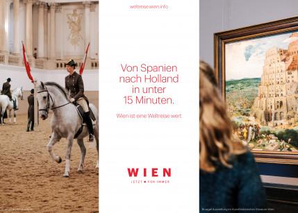 Wien Nord Serviceplan zeigt, dass Wien eine Weltreise wert ist