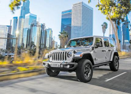 Jeep erweitert seine E-Modellpalette