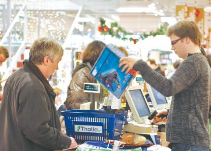 Gewerkschaft ortet Mitarbeiter-Überlastung in Supermärkten