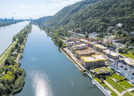 Gleichenfeier an der Donau