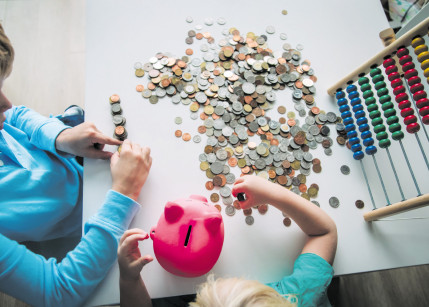 Das Geld, die Schule und der Nachwuchs