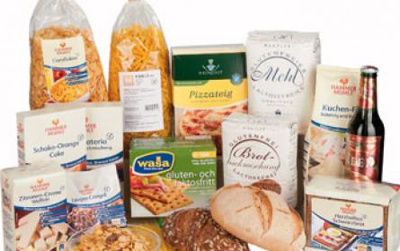 Glutenfreie Waren im deutschen Einzelhandel gefragt