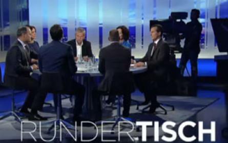 """689.000 sahen gestrigen """"Runden Tisch"""" in ORF 2"""