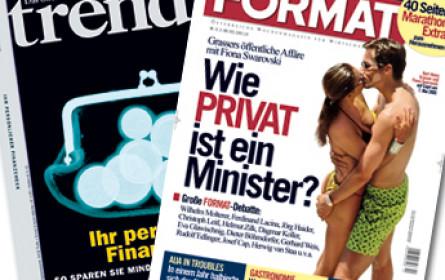 """News-Gruppe fusioniert Wirtschaftsmagazine """"trend"""" und """"Format"""""""