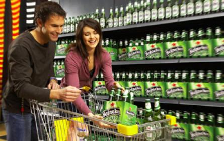 Heineken shoppt bei Diageo