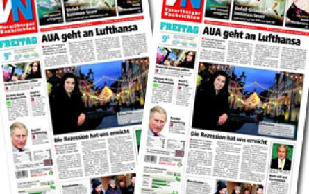 """""""Vorarlberger Nachrichten"""" feiern 70. Geburtstag"""