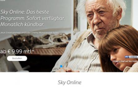 Sky baut Online-Angebot weiter aus