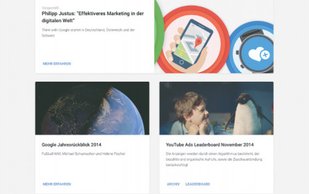 """In Österreich: """"Think with Google"""""""