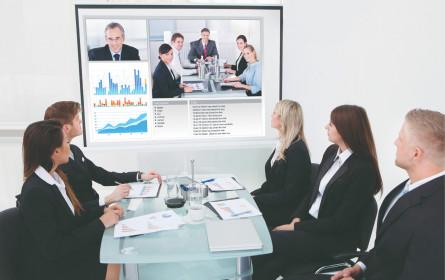 Videokonferenzen ziehen ins Geschäftsleben ein