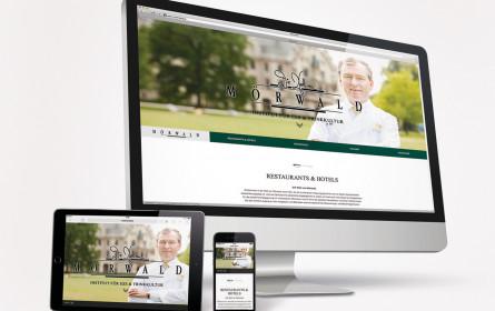 Web-Relaunch für Starkoch Toni Mörwald