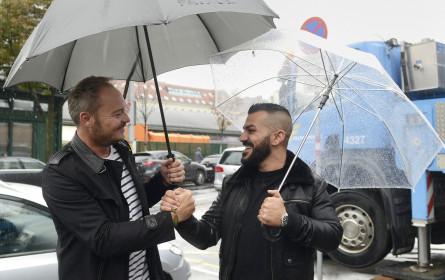 Beim Streaming stehen die Künstler im Regen