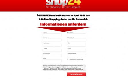 Österreich startet shop24.at
