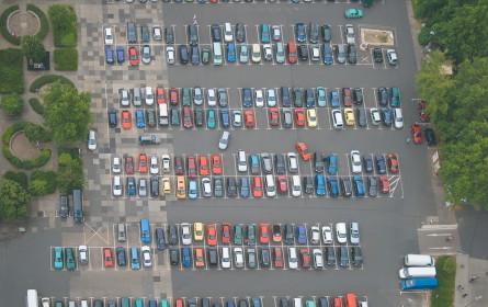 Sensorlandschaft macht Parkplatzsuche einfach